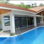 An expansive deck equals the ultimate in entertainment on your Costa Rican Vacation