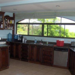The spacious kitchen definitely has room enough for two cooks