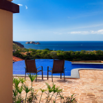 View From a Luxury Villa Bedroom